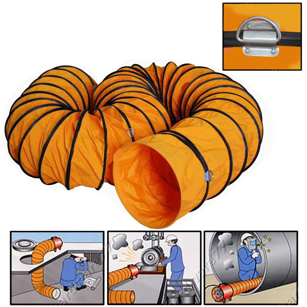 Flexible air duct hose industrial ducting